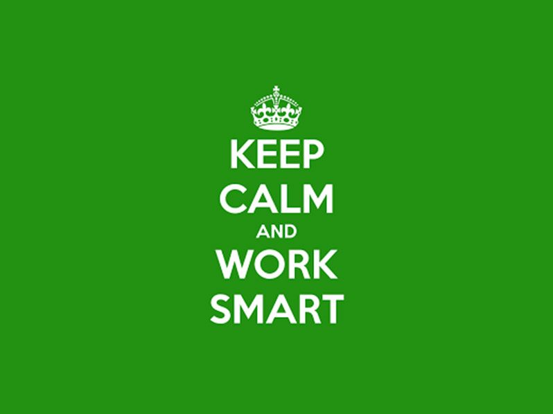 ACHIEVE MORE AT WORK – WORK SMARTER!