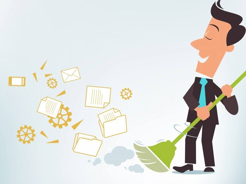 SIX TIPS FOR SPRING CLEANING YOUR BUSINESS