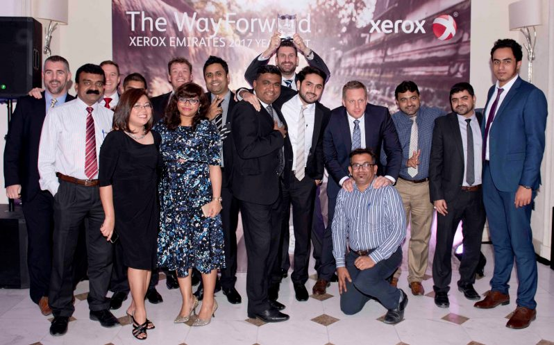 Xeratek Won Xerox Emirates Awards